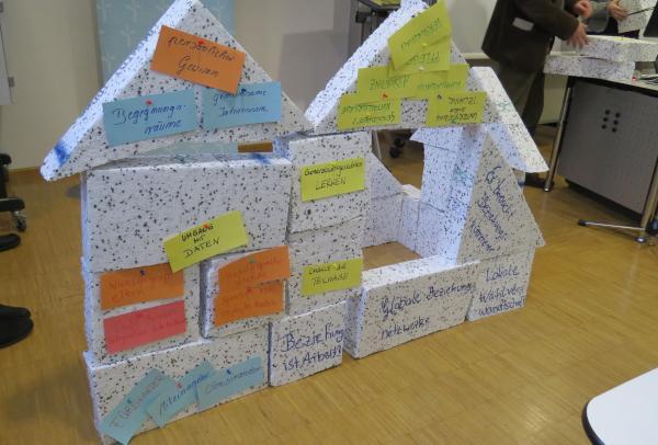gebautes Haus der Generationen