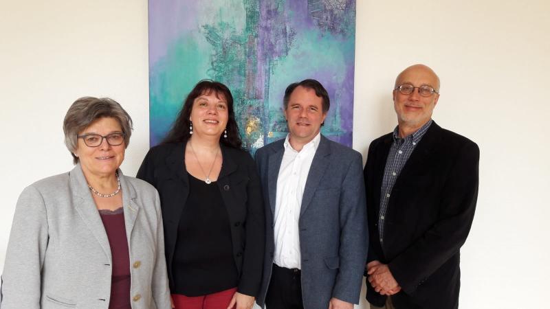 Prof. Dr Barbara Städtler-Mach, Prof. Dr. Kathrin Winkler, Prof. Dr. András Koranyi, Kurt Füglein