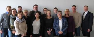 Die Teilnehmerinnen und Teilnehmer des Forschungsnetzwerks Osteuropäisc