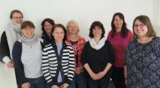 Verwaltungsmitarbeiterinnen der ungarischen Partnerhochschule zu Gast